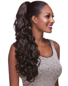 Embrace your curly hair with this elegant look
