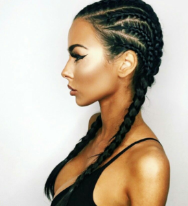 Try the basic pull through technique if you are new to braids